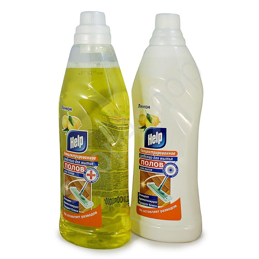 Чистящее средство хэлп 1л для полов фото