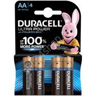 Батарейка Duracell UltraPower AA (LR06) алкалиновая, 4BL